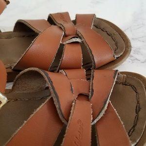 99221553031 Salt Water Sandals by Hoy Shoes - Sun San Hoy Saltwater Sandals Tan Uni-Sex